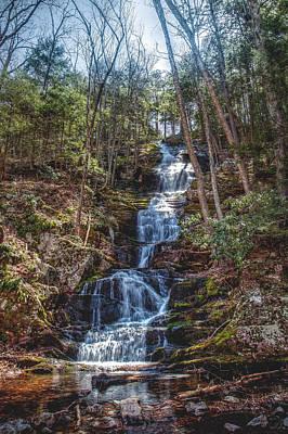 Buttermilk Falls - Natures Beauty Original by Don Edwards