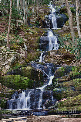 Buttermilk Falls Print by Paul Ward
