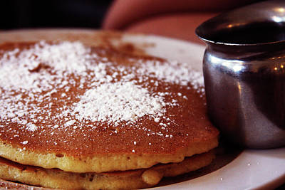 Photograph - Buttermilk Pancakes At Sabrinas Cafe by Vadim Levin