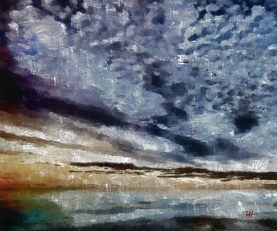Sky Painting - Buttermilk Skies by Russ Harris