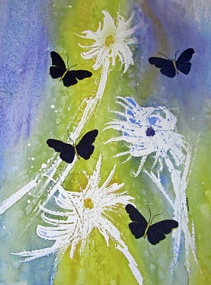 Painting - Butteryfly Flutter by Elvira Ingram