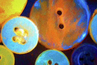 Buttons Art Print by Charles Haaland