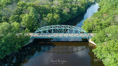 Photograph - Butts Bridge Summertime by Michael Hughes