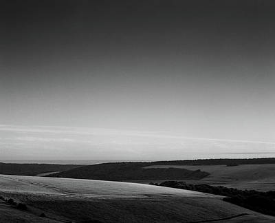 Photograph - Butts Brow, Eastbourne. by Will Gudgeon