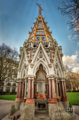 Slavery Photograph - Buxton Memorial London by Adrian Evans