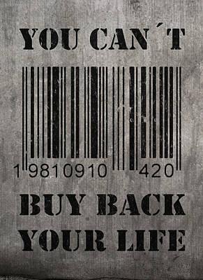 Buy Back Art Print