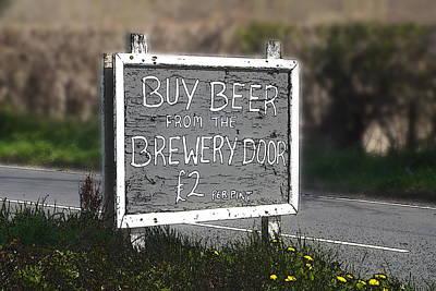Buy Beer Art Print by Brainwave Pictures