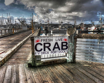 Photograph - Buy From The Fisherman by Thom Zehrfeld