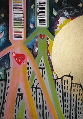 Painting - Buy Goods Not War Ny by Krisztina Asztalos