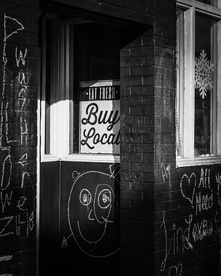 Photograph - Buy Local by Rodney Lee Williams