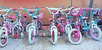 Photograph - Buy Me A Bike Daddy by Strangefire Art       Scylla Liscombe