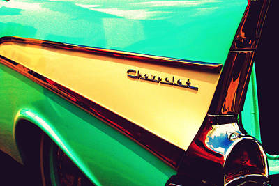 Photograph - Buy Me A Chevrolet by Susie Weaver