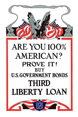 Buy U.s. Government Bonds Art Print by War Is Hell Store