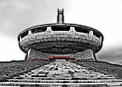 Photograph - Buzludzha by Matthew Naiden