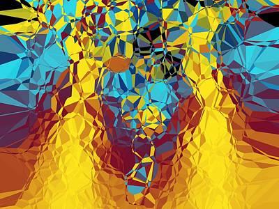 Digital Art - Buzz by Mike Turner