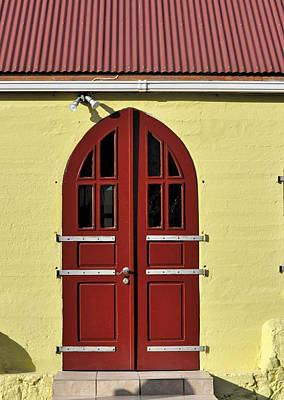 Photograph - Island Church Door by Kristina Deane
