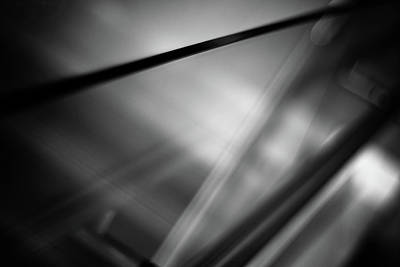 Photograph - Bw Abstract 2 by Patrick Groleau