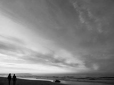Photograph - Bw Beach by Jennifer Baulch