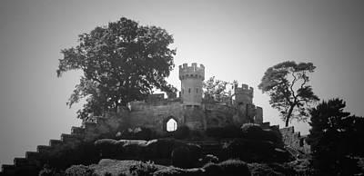 Warwick Castle Photograph - Bw Castle by Lisa Byrne