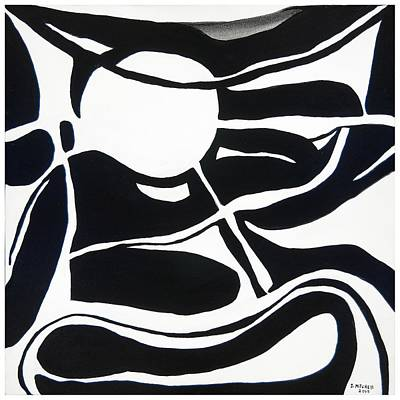 Painting - Bw Untitled B by Ida Mitchell