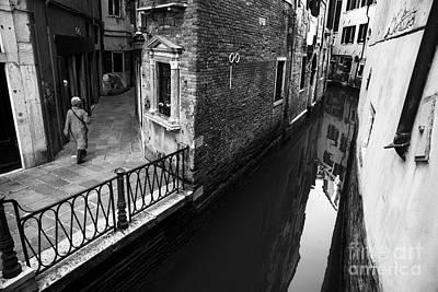 Photograph - Bw Venice II by Yuri Santin