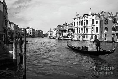 Photograph - Bw Venice by Yuri Santin
