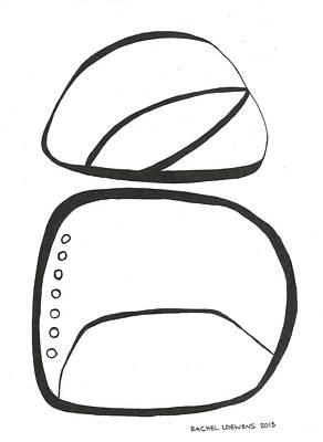 Drawing - Bw2015-01 by Rachel Loewens