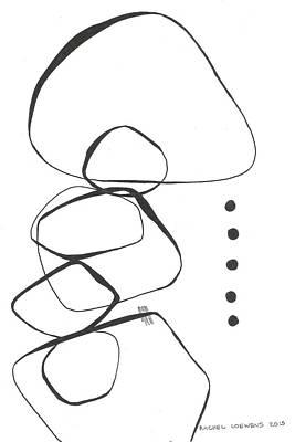 Drawing - Bw2015-02 by Rachel Loewens