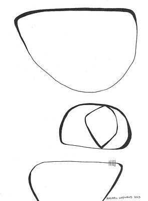 Drawing - Bw2015-03 by Rachel Loewens