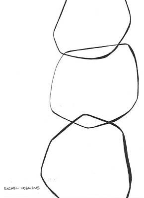 Drawing - Bw2016-01 by Rachel Loewens