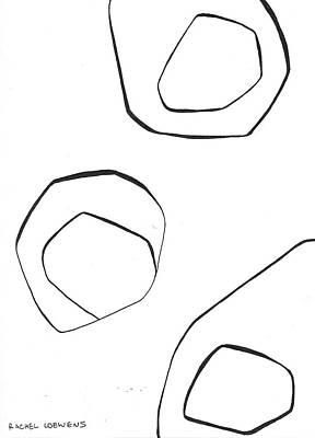 Drawing - Bw2016-02 by Rachel Loewens