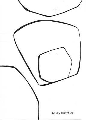 Drawing - Bw2016-03 by Rachel Loewens