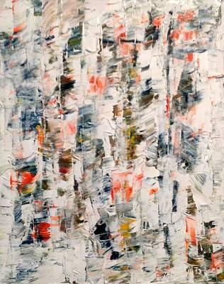 Painting - Bwf 2 by Desmond Raymond