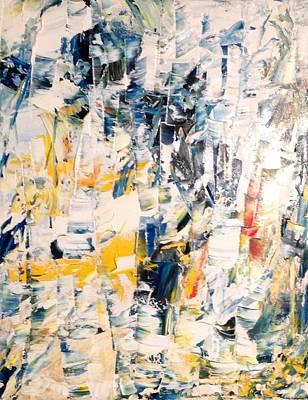 Painting - Bwf 3 W/ Y by Desmond Raymond