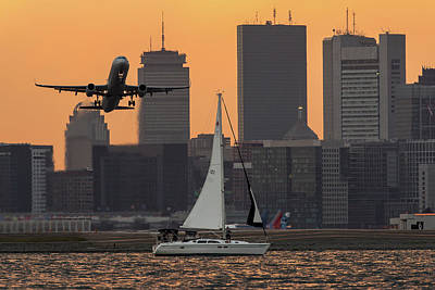 Photograph - By Air, Land Or Sea by Christopher Villandry