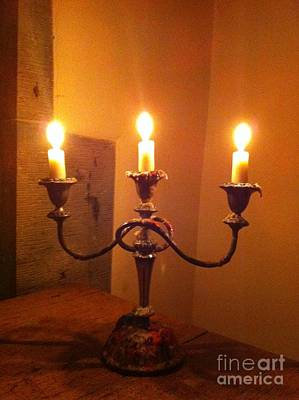 Photograph - By Candlelight by Linda Prewer