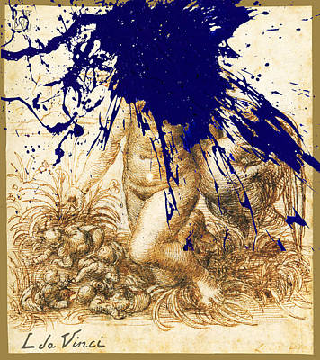 Mixed Media - By Da Vinci by Tony Rubino