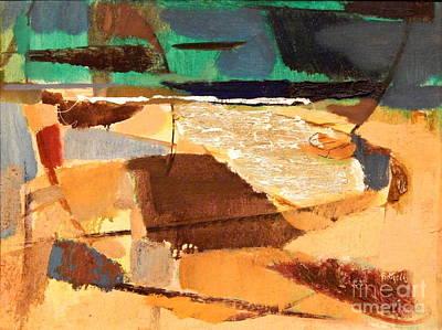 Painting - By Edgar A. Batzell Seascape by Expressionistart studio Priscilla Batzell