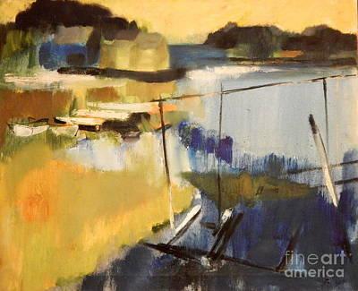 Painting - By Edgar A.batzell Dorys On The Marsh by Expressionistart studio Priscilla Batzell