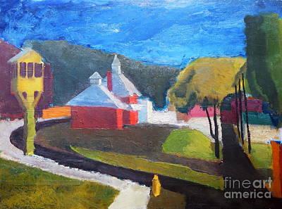 Painting - By Edgar A.batzell by Expressionistart studio Priscilla Batzell