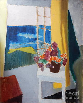 Painting - By Edgar A.batzell Seascape  by Expressionistart studio Priscilla Batzell