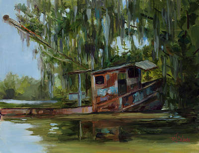 Painting - Bateau De Peche  by Billie Colson
