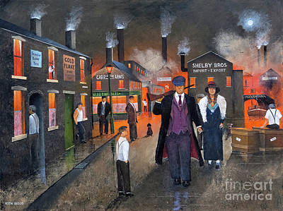Painting - By Order Of The Peaky Blinders by Ken Wood
