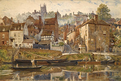 By Severnside. Bridgnorth Art Print