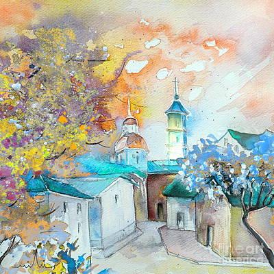 By Teruel Spain 03 Art Print by Miki De Goodaboom