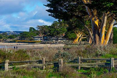 Photograph - By The Beach by Derek Dean