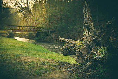 West Virginia Landscape Photograph - A Place...by The Bridge by Shane Holsclaw
