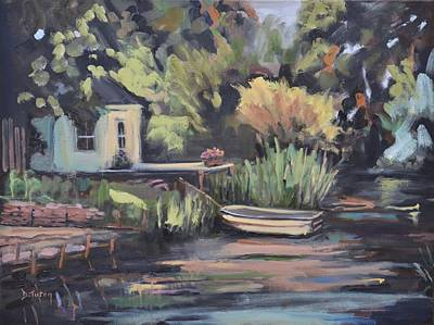 Painting - By The Lake by Donna Tuten