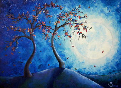 Painting - By The Moonlight by Shiela Gosselin