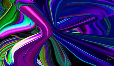 Digital Art - By The Off Ramp by Phillip Mossbarger